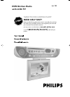 Philips AJL 700 Radio Manual (33 pages)