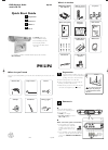 Philips AJL 700 Radio Manual (2 pages)