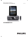 Philips DC-291 Radio Manual (17 pages)