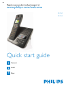 Philips SE4502B Telephone Manual (6 pages)