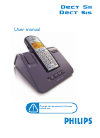 Philips DECT5152S Telephone Manual (67 pages)