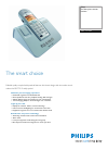 Philips DECT5152S Telephone Manual (2 pages)