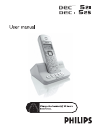 Philips DECT5251S Telephone Manual (63 pages)