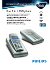 Philips onis vox 300 Telephone Manual (2 pages)