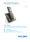 Philips SE4502B Telephone Manual (65 pages)