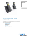 Philips SE4502B Telephone Manual (2 pages)