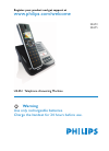 Philips SE6551B Telephone Manual (73 pages)