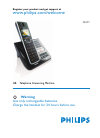 Philips SE6551B Telephone Manual (72 pages)
