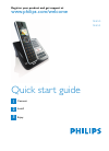 Philips SE6551B Telephone Manual (6 pages)