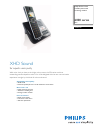 Philips SE6551B Telephone Manual (2 pages)