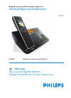 Philips SE659 Telephone Manual (76 pages)