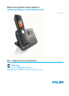 Philips SE7451B Telephone Manual (48 pages)
