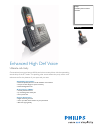 Philips SE7451B Telephone Manual (2 pages)