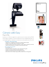 Philips OS685 Digital Camera Manual (2 pages)