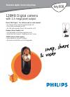 Philips KEY008/00 Digital Camera Manual (2 pages)