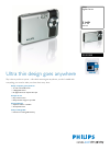 Philips SIC4523 Digital Camera Manual (2 pages)
