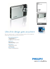 Philips SIC4523BB Digital Camera Manual (2 pages)