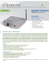 Hawking HNC290G Security Camera Manual (2 pages)