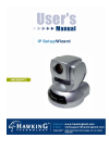 Hawking HNC800PTZ Security Camera Manual (20 pages)