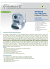 Hawking HNC820G Security Camera Manual (2 pages)