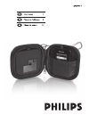 Philips SJM2305 MP3 Player Accessories Manual (19 pages)
