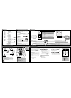 Philips 200 series Telephone Manual (2 pages)