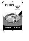Philips AZ1008 Radio Manual (45 pages)