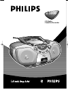 Philips AZ1008 Radio Manual (10 pages)