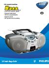 Philips AZ1008 Radio Manual (2 pages)