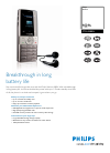 Philips CT9A9KBRN Telephone Manual (2 pages)