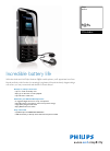 Philips CT9A9UBLK Telephone Manual (3 pages)