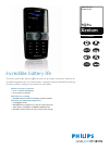 Philips CT9A9WBLK Telephone Manual (2 pages)