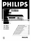 Philips EEB 60.0 Radio Manual (14 pages)