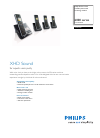 Philips SE6554B Telephone Manual (2 pages)
