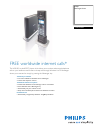 Philips VOIP4331B - Cordless Phone / USB VoIP Telephone Manual (2 pages)