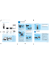 Philips VOIP4332B/69 Telephone Manual (2 pages)