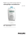 Philips AE2330 Radio Manual (17 pages)
