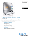 Philips DC190 MP3 Player Accessories Manual (2 pages)