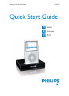 Philips DC1000 MP3 Player Accessories Manual (10 pages)