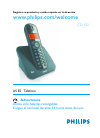 Philips CD1503B/17 Telephone Manual (46 pages)