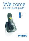 Philips CD6452B Telephone Manual (6 pages)