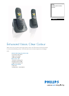 Philips CD6452B Telephone Manual (2 pages)