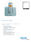 Philips DECT5112S Telephone Manual (2 pages)