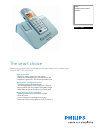 Philips DECT5154S Telephone Manual (3 pages)