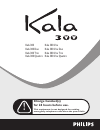 Philips Kala 300 Telephone Manual (22 pages)