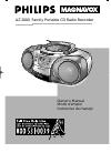 Philips AZ2000 Radio Manual (38 pages)