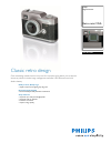 Philips DVP2800 Digital Camera Manual (2 pages)