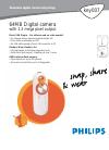 Philips KEY007 Digital Camera Manual (2 pages)