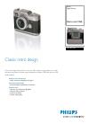 Philips MIC4013SB Digital Camera Manual (2 pages)