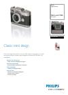 Philips MIC4014SB Digital Camera Manual (2 pages)